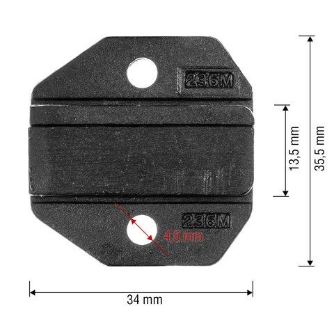 Матрица для кримпера Pro'sKit CP-236DM5 - Просмотр 2