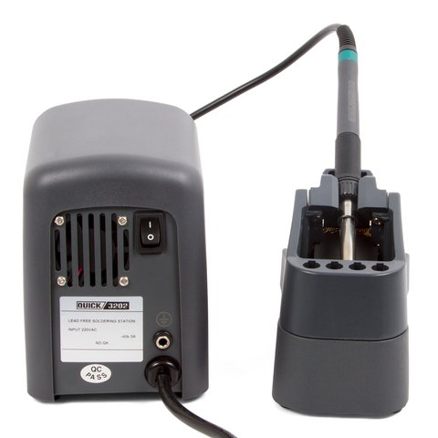 Індукційна паяльна станція для безсвинцевого паяння QUICK 3202 ESD Прев'ю 1