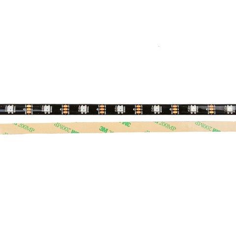 Світлодіодна стрічка RGB SMD5050, WS2812B (з управлінням, IP65, 5 В, 30 діодів/м, 1 м) Прев'ю 1