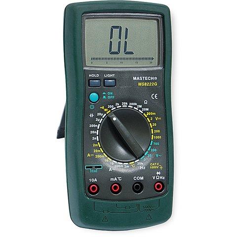 Цифровой мультиметр MASTECH MS8222G Превью 2
