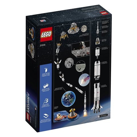 Конструктор LEGO Ideas NASA Аполлон Сатурн-5 21309 Превью 7