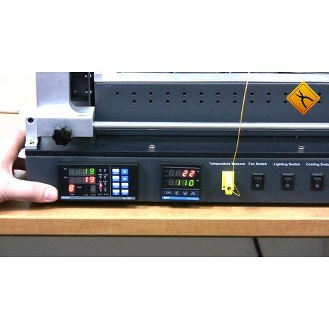 Estación de soldadura infrarroja ACHI IR-6500 - Vista prévia 7